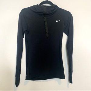 Nike Dri-Fit Running Black Long Sleeve